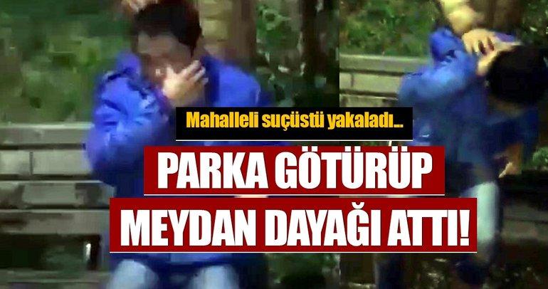 Çocuk hırsızı yakalayıp önce itiraf ettirdiler, sonra dövdüler