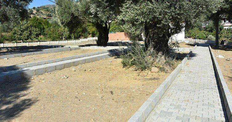 Nazilli Belediyesi, Bayındır Mahallesi Mezarlığını yeniledi
