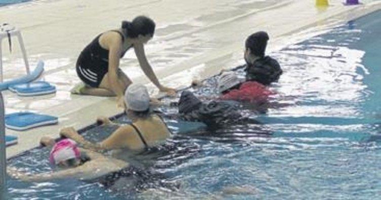 Kepez'de yüzme bilmeyen kalmayacak