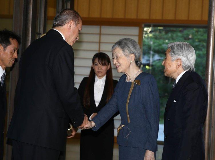 Cumhurbaşkanı Erdoğan Japonya'da
