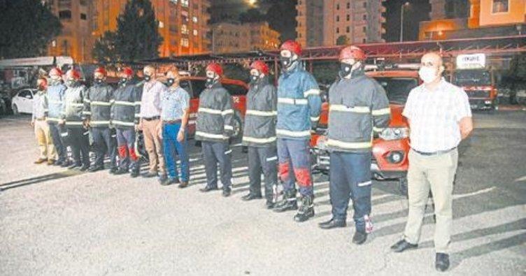İzmir'e 8 kişilik uzman ekip gönderildi