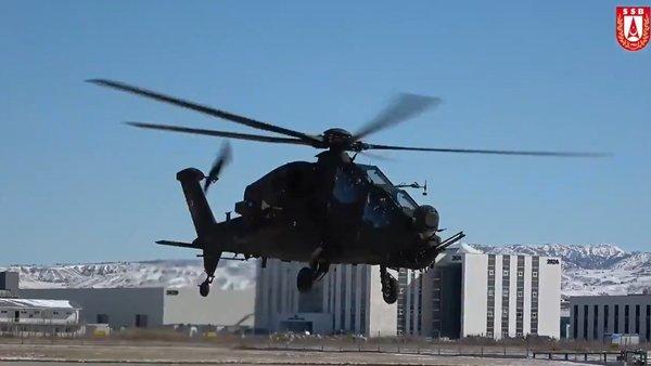 Yeni Atak helikopterleri Emniyet Genel Müdürlüğü'ne teslim edildi | Video