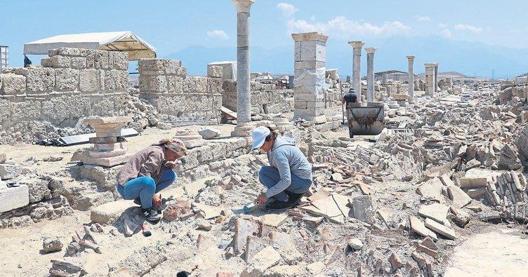 Laodikya'daki tarih ziyaretçilere açılıyor