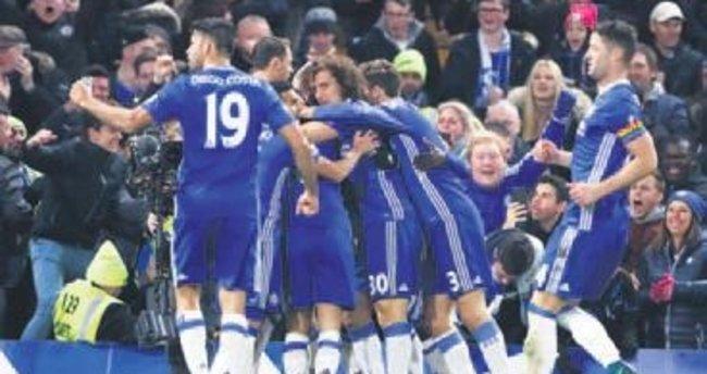 Chelsea seriyi 7 maça çıkardı