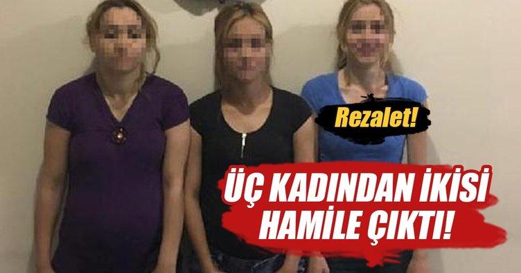 Hırsızlık şüphelisi 2'si hamile 3 kadına gözaltı