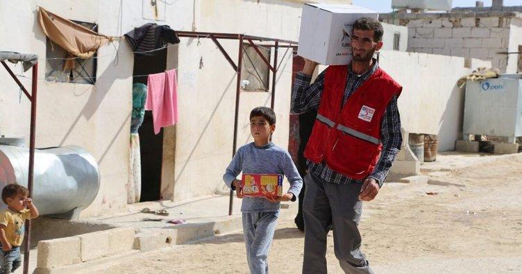İdlib'teki yetim çocuklar koruma altında