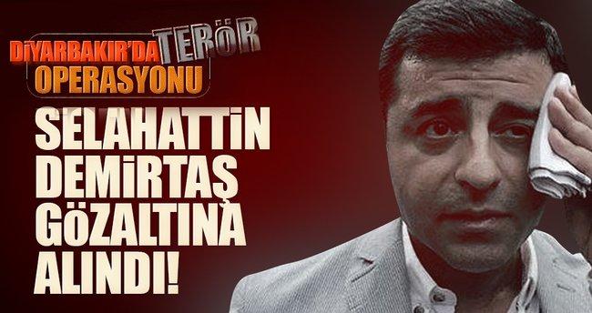 Selahattin Demirtaş gözaltına alındı!