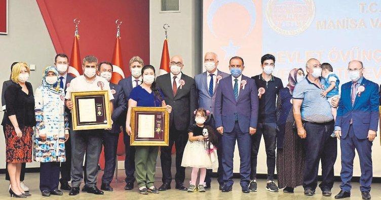 Ege'de şehit ailesi ve gazilerin onur günü