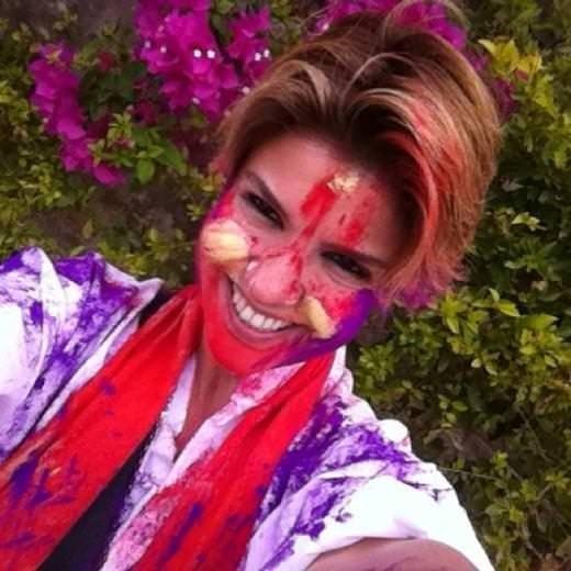 Gülben Ergen'in Hindistan tatilinden kareler