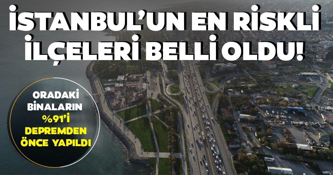 SON DAKİKA: Beklenen İstanbul depremi için en riskli ilçeler açıklanmıştı! O ilçe belediye başkanları konuştu, işte en riskli 3 ilçe...