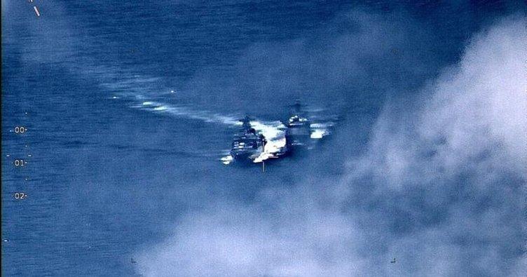 Güney Çin Denizi'nde tehlikeli yakınlaşma