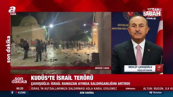 Dışişleri Bakanı Mevlüt Çavuşoğlu: İnsan haklarından bahsedenler neden ses çıkarmıyor?