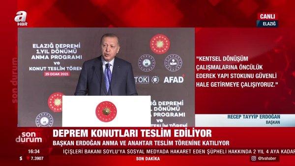 Cumhurbaşkanı Erdoğan'dan çok çarpıcı dikey mimari sözleri