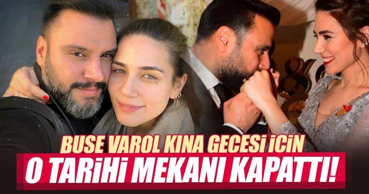 Alişan'ın nişanlısı Buse Varol, kına gecesi için o tarihi yapıyı kapattı!