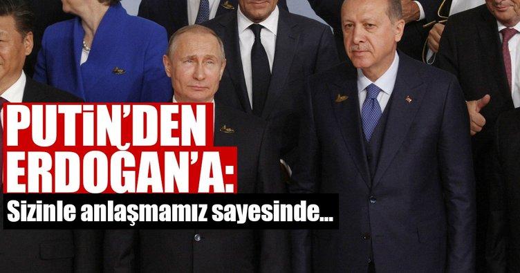 G-20'den son dakika... Cumhurbaşkanı Erdoğan ve Putin görüştü
