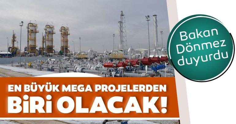 Bakan Dönmez duyurdu: Türkiye'nin en büyük mega projelerinden biri olacak