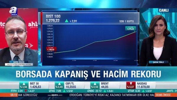 Barış Ürkün: Erdoğan'ın açıklamaları yatırımcılar tarafından olumlu algılandı