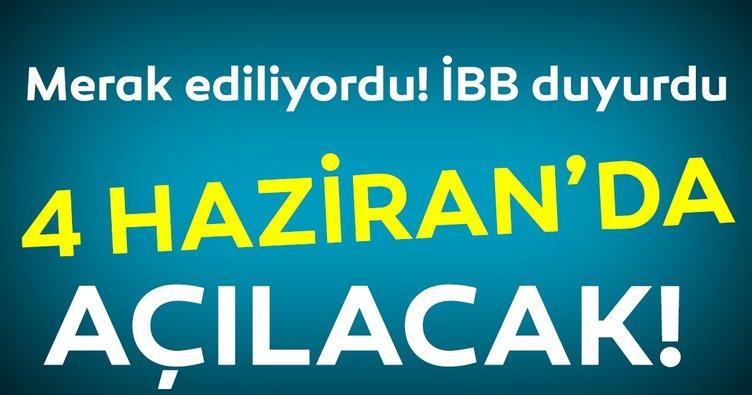 İstanbul'un plajları 4 Haziran'da açılıyor