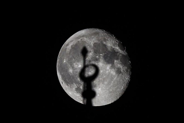 'Süper Ay' tutulması gerçekleşti