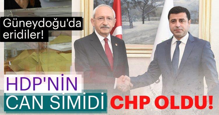 HDP'nin can simidi CHP oldu!