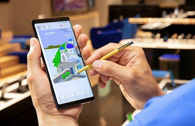 Samsung Galaxy Note 9'a güncelleme geldi