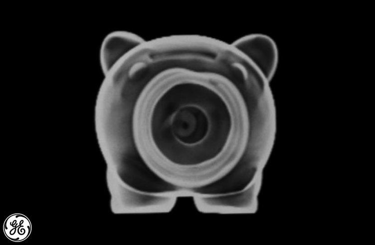 Objelerin sıradışı röntgen görüntüleri