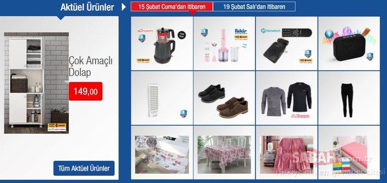 15 Şubat BİM aktüel ürünler listesi ile kaliteli ürünleri yarı fiyatına alın! BİM kataloğu TAM LİSTE (İNDİRİMLİ ÜRÜNLER)
