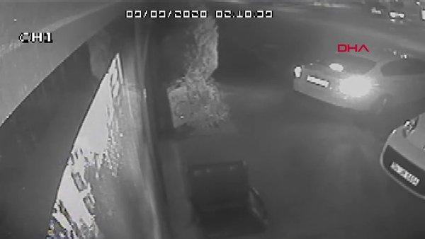 İstanbul Avcılar'da 10 bilgisayarın 2 dakikada çalınma anı kamerada | Video