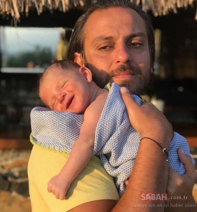 Yakın dostlar Ali Atay ile Erkan Kolçak Köstendil ile oğullarıyla poz verdi! Sosyal medya En çok hangisi babasına benziyor? sorusu ile yıkıldı!
