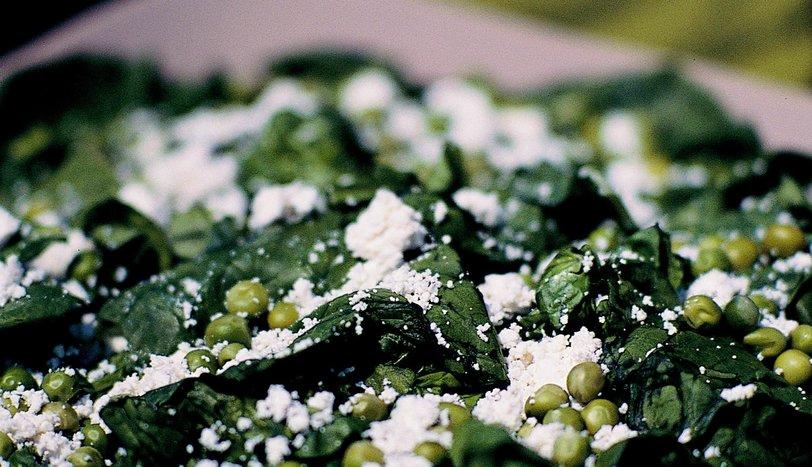 Tulum Peynirli Ispanak Salatası