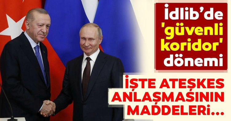 Son dakika haberi! Moskova'da anlaşmaya varıldı! İşte İdlib Ateşkesi maddeleri!