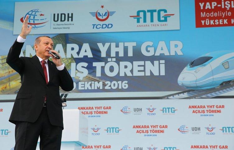 Ankara YHT Garı açıldı!