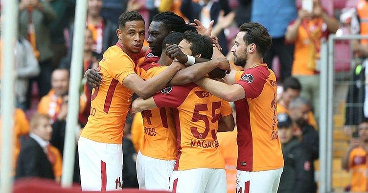Galatasaray şampiyonluk yolunda hata yapmadı