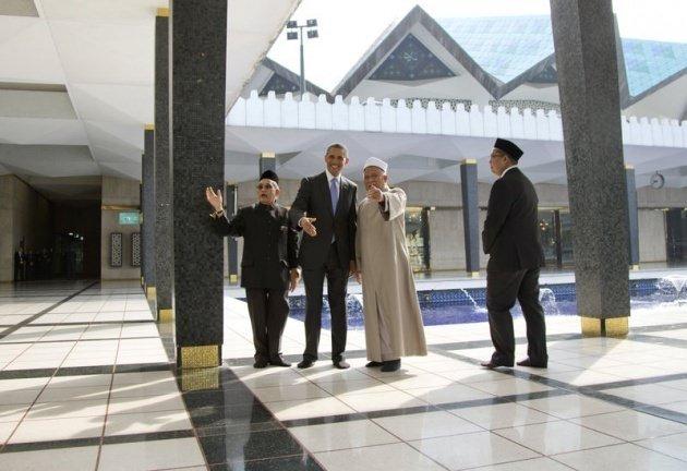 Obama'dan imama: Bana dua et