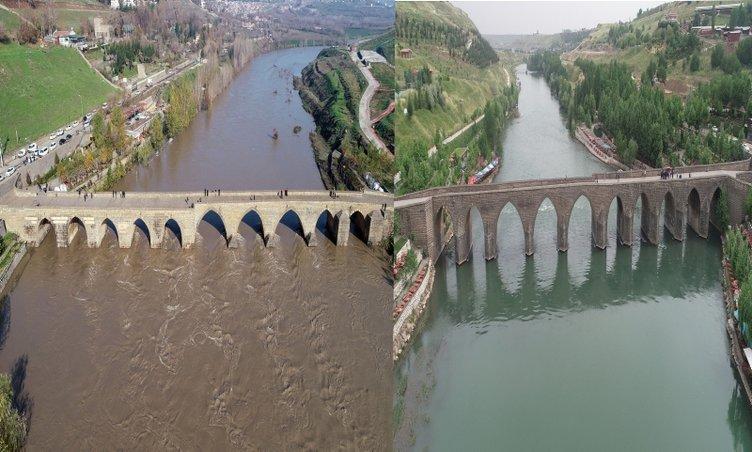 Dicle Nehri 30 yıl sonra ilk kez böyle görüntülendi!