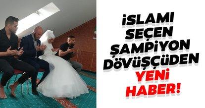 İslamı seçen Avusturyalı şampiyon dövüşçü Ott'dan yeni haber! Nişanlısı da Müslüman oldu