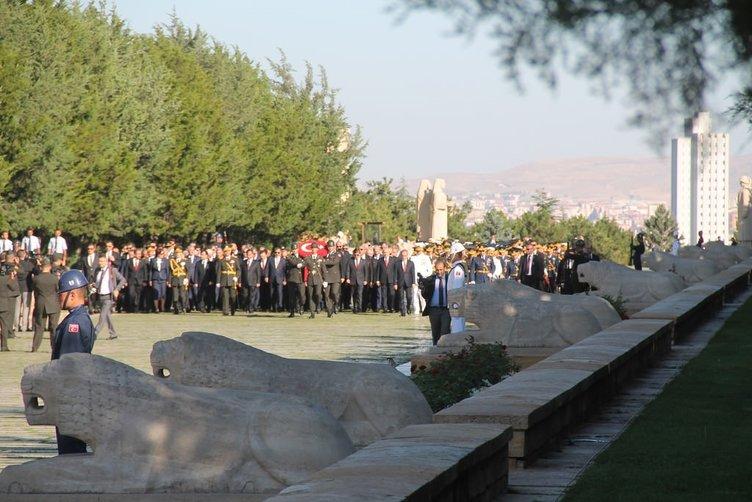 30 Ağustos Anıtkabir ziyareti