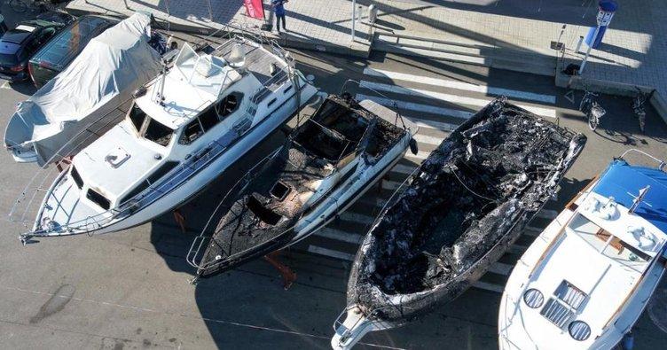Limanda yangının faturası ağır oldu