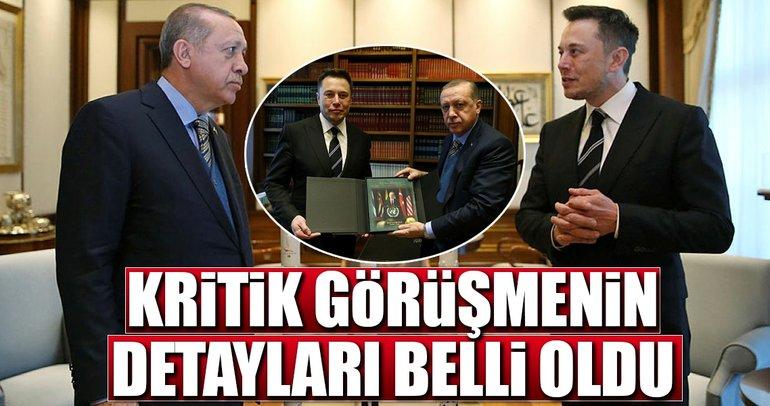 Cumhurbaşkanı Erdoğan ile Elon Musk görüşmesinin detayları belli oldu