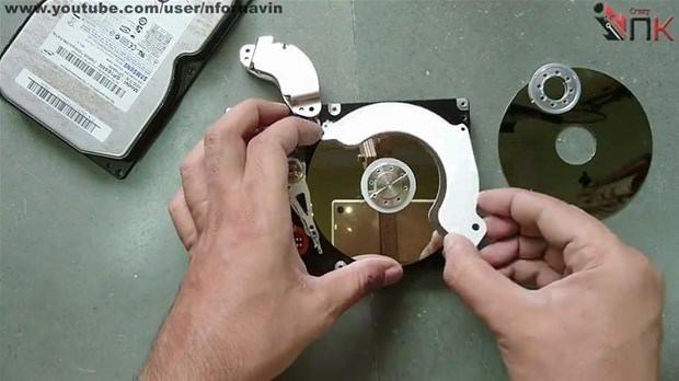 Hard diski bakın neye çevirdi!