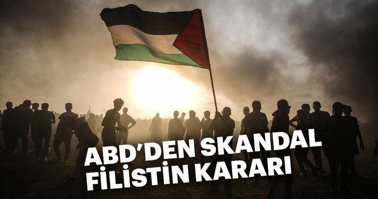 Son dakika: ABD Filistin'e yardımı kesti