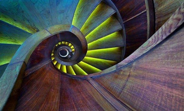 Tasarım harikası merdivenler