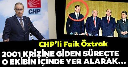 CHP'li Faik Öztrak skandal hamleleri ile ekonomik krize böyle davetiye çıkarmış!