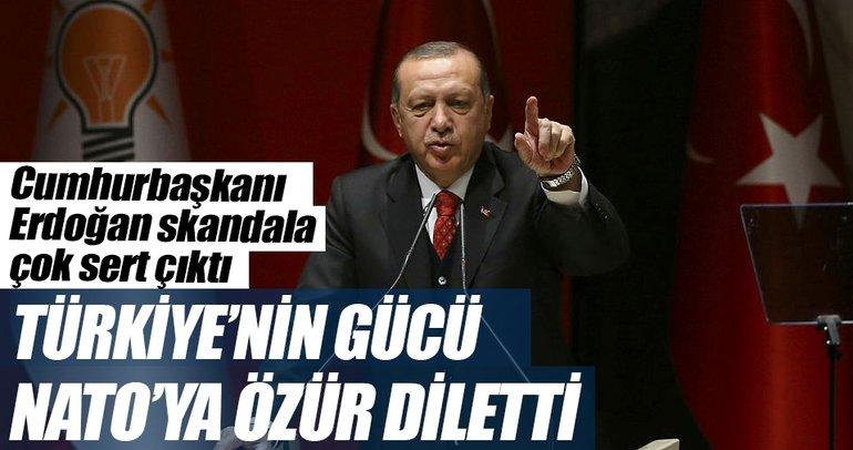 Türkiye'nin gücü NATO'ya özür diletti