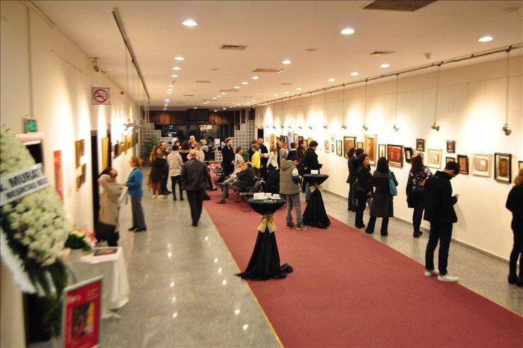 3 Fırça 2016 minyatür sergisi açıldı