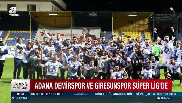 Spor Toto Süper Lig'e yükselen takımlar belli oldu! TFF 1. Lig'den hangi takımlar Süper Lig'e yükseldi?