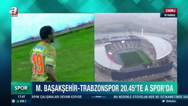 Başakşehir Trabzonspor maçı hangi kanalda yayınlanacak ve saat kaçta? Başakşehir Trabzonspor Süper Kupa maçı canlı yayın kanalı! | Video