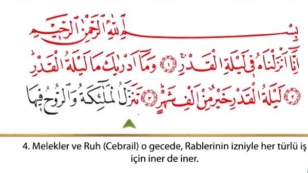 Kadir Suresi dinle! Kadir Suresi 'nin Arapça okunuşu (tecvidli) Türkçe anlamı! | Video