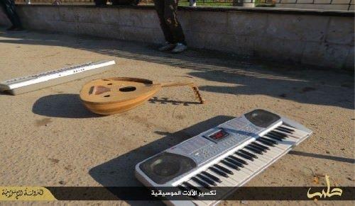 DEAŞ şarkıcılara da ceza kesti