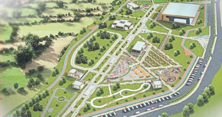 Gaziantep'e 150 bin metrekarelik dev park